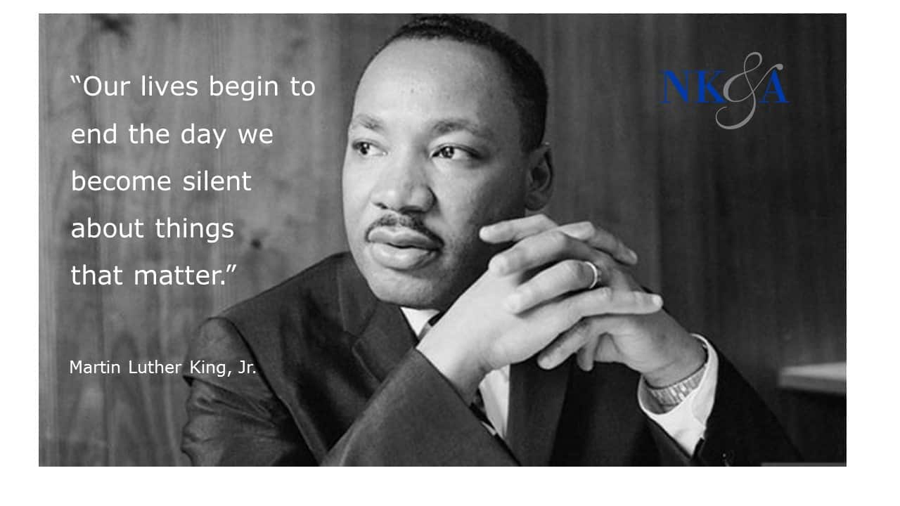 The Day Our Lives Begin To End Quote By Martin Luther King Jr